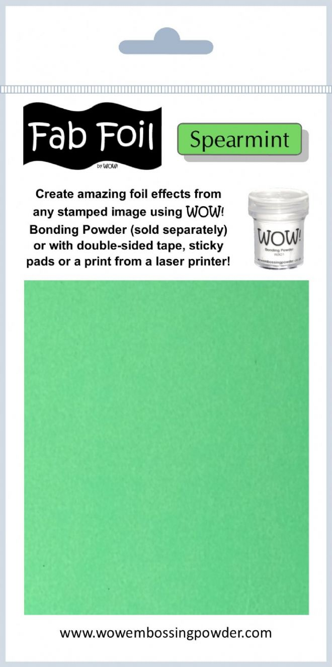 WOW! Fab Foil - Spearmint